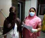 Frontline workers in corona war in UP's hinterland risk lives to collect vital info