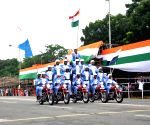 Full dress rehearsals for 73rd Independence Day parade