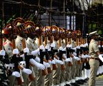 Chennai: Full dress rehearsals for 73rd Independence Day parade