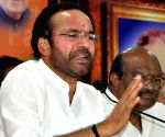 Conspiracy to tarnish India's image: Kishan Reddy
