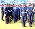 BOTSWANA GABORONE POLICE ANNIVERSARY CELEBRATION