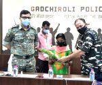 Dreaded woman Maoist surrenders to Maharashtra Police