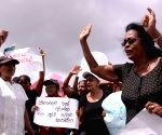 SRI LANKA KOTUGODA AND EKALA PROTEST DUMP RELOCATION