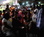 Ganatantrik Mahila Samity's demonstration