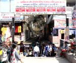 Gandhi Nagar market open on Friday in East Delhi