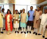 Four new Gujarat BJP MLAs sworn in, party strength 103