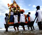Ganesh idol immersions