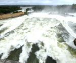 50, 000 cusecs of water released from KRS Dam