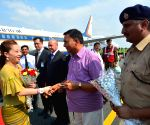 Thai Princess arrives in Gaya