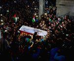 MIDEAST GAZA HAMAS SCIENTIST FUNERAL