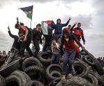 PALESTINE GAZA STRIP TYRES