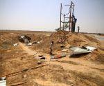 MIDEAST GAZA TANK FIRE