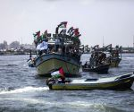 MIDEAST GAZA BREACH BLOKADE