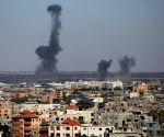 MIDEAST GAZA AIRSTRIKES