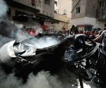 MIDEAST GAZA AIRSTRIKE