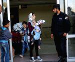 MIDEAST GAZA RAFAH CROSSING OPENING