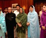 Geeta  calls on President Mukherjee