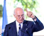 SWITZERLAND-GENEVA-UN SPECIAL ENVOY FOR SYRIA-PRESS BRIEFING