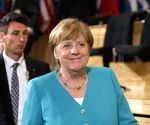 SWITZERLAND GENEVA INTERNATIONAL LABOUR CONFERENCE MERKEL