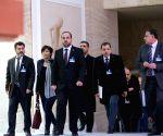 SWITZERLAND GENEVA UN SYRIA PEACE TALKS OPPOSITION DELEGATION PRESS CONFERENCE