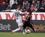 ITALY GENOA FOOTBALL SERIE A GENOA VS JUVENTUS