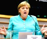 Germany willing to compromise on EU recovery fund: Merkel