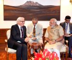 German Foreign Minister calls on PM Modi