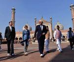 German President  visits Jama Masjid