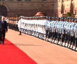 German President's ceremonial reception