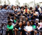 LIBYA GHARYAN ILLEGAL IMMIGRANTS