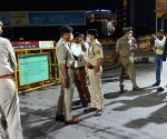 Free Photo: Ghaziabad SSP and DM at Delhi-UP Border