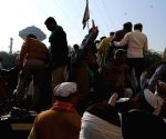 Free Photo: Ghazipur border farmers protest