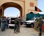 AFGHANISTAN GHAZNI POLICE CHECKPOINT