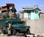 AFGHANISTAN-GHAZNI-SUICIDE CAR BOMB- POLICE STATION