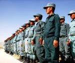 AFGHANISTAN GHAZNI POLICEMEN GRADUATION
