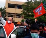 GHMC polls: BJP bigwigs, Owaisis engage in no-holds-barred attacks