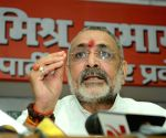 Giriraj upset over being shifted to Begusarai
