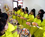 Basant Panchami festival - preparation