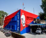 Lodhi Colony police station gets Gandhi mural too