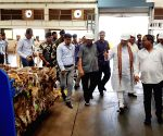Amit Shah visits a garbage treatment plant