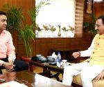 Goa CM meets Ramesh Pokhriyal