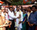 Pramod Sawant welcomes Shripad Yesso Naik