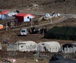 MIDEAST-GOLAN HEIGHTS-SYRIAN REFUGEE