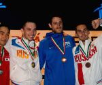 HUNGARY BUDAPEST FENCING SABRE WORLD CUP