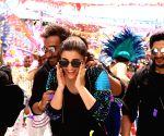 Rohit Shetty, team go 'Golmaal Again' in Hyderabad ()