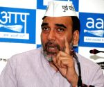 AAP announces three candidates in Haryana