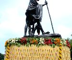 WB Governor pays tribute to Mahatma Gandhi