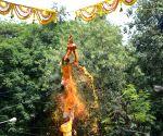 Janmashtami celebrations - Govindas during 'Dahi Handi' event
