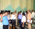 GHMC Commissioner inspects a counting center