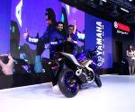 Greater Noida: John Abraham unveils Yamaha's YZF-R3